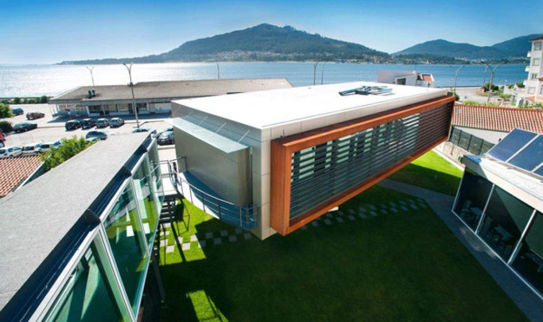 """""""Design & Wine"""": Περιηγηθείτε στο πρωτοποριακό περιστρεφόμενο ξενοδοχείο της Πορτογαλίας - Κοιμάστε με θέα τον ποταμό Minho και ξυπνάτε με φόντο τα βουνά! - Κυρίως Φωτογραφία - Gallery - Video"""
