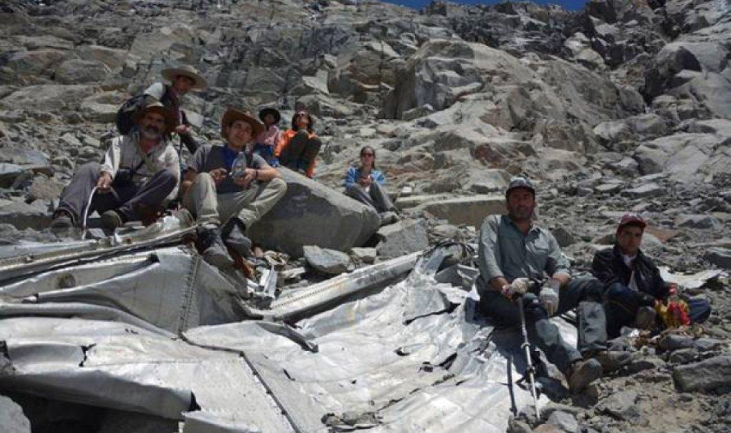 Χιλή: Εντοπίστηκαν τα συντρίμμια αεροπορικού δυστυχήματος με αστέρες του ποδοσφαίρου που είχε γίνει πριν από... 50 χρόνια! - Κυρίως Φωτογραφία - Gallery - Video