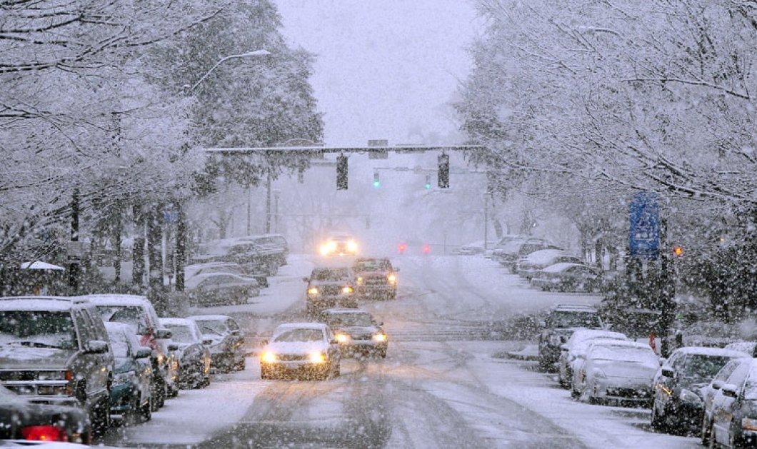 Ο Χειμώνας ''έφτασε'' μία ημέρα πριν ''μπει'' το 2015, στα χιόνια όλη η χώρα - Η λίστα με τους θερμαινόμενους χώρους στη περιφέρεια Αττικής! - Κυρίως Φωτογραφία - Gallery - Video
