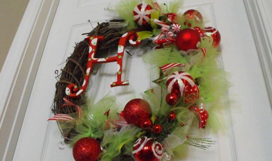 Απίθανα χριστουγεννιάτικα στεφάνια για την εξώπορτα ή το μπαλκόνι που θα σας βάλουν για τα καλά στο πνεύμα των εορτών! - Κυρίως Φωτογραφία - Gallery - Video
