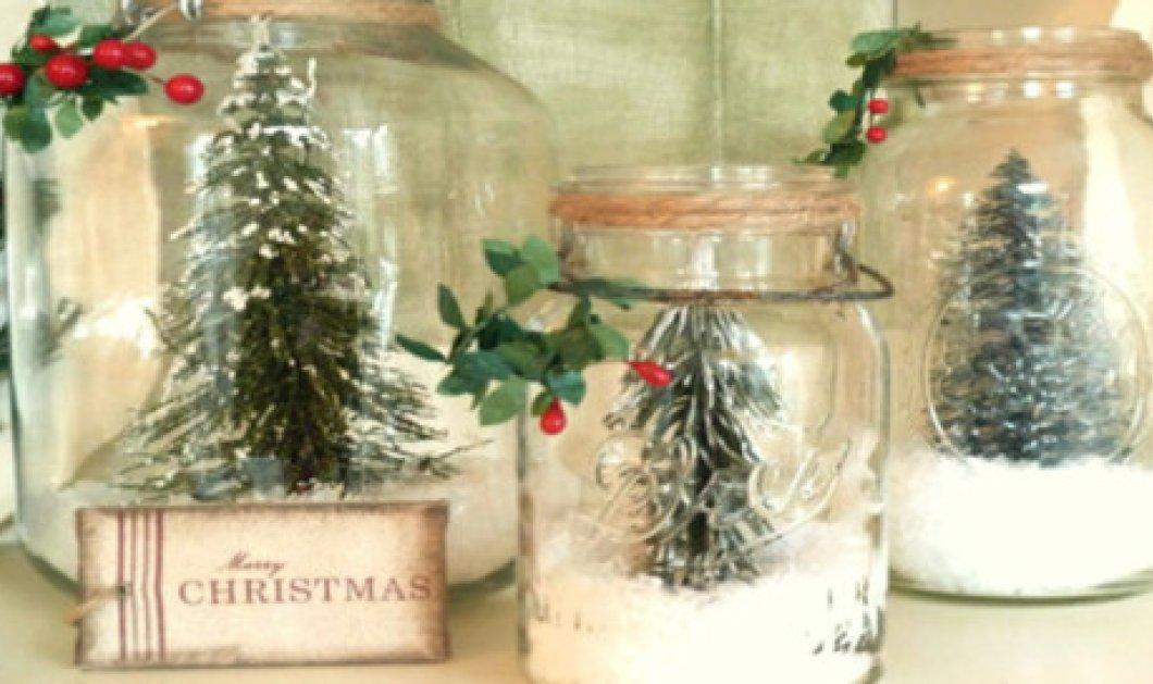 5+1 υπέροχες, θεαματικές και... εύκολες Χριστουγεννιάτικες κατασκευές! - Κυρίως Φωτογραφία - Gallery - Video