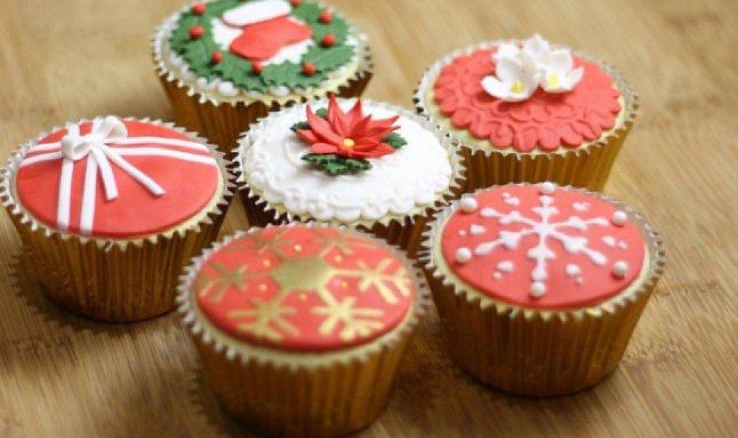 Τα πιο ευφάνταστα, δημιουργικά και λαχταριστά χριστουγεννιάτικα cup cakes! Πραγματική οπτασία & έτοιμα για δάγκωμα! (φωτό) - Κυρίως Φωτογραφία - Gallery - Video