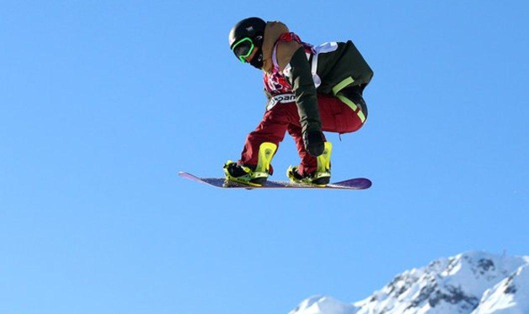 Γιαπωνέζος Snowboarder περιστρέφεται για πρώτη φορά στα χρονικά 1620 (!) μοίρες και φυσικά κατακτά το χρυσό! (βίντεο) - Κυρίως Φωτογραφία - Gallery - Video