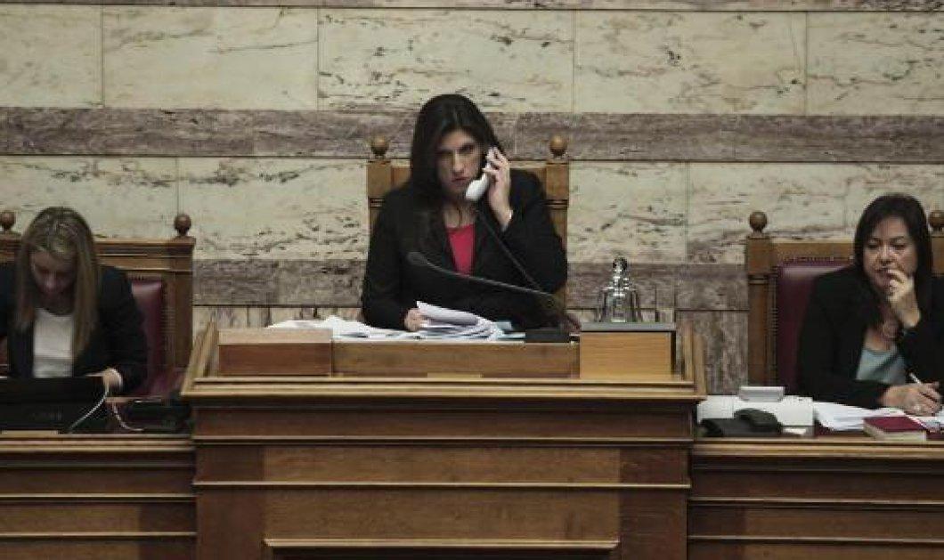 «Μπάχαλο» στην πρώτη συνεδρίαση της Βουλής για την άρση της ασυλίας του Α. Γεωργιάδη - Κυρίως Φωτογραφία - Gallery - Video