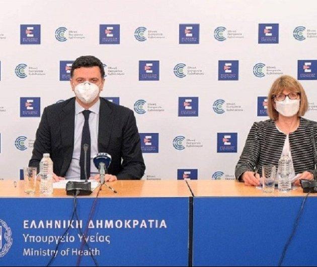 Βασίλης Κικίλιας για τον Κορονοϊό - Μας προβληματίζει η μετάλλαξη του ιού - Η ενημέρωση από το Υπουργείο υγείας (βίντεο) - Κυρίως Φωτογραφία - Gallery - Video