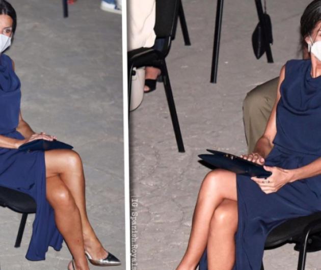 Βασίλισσα Λετίσια: Μαυρισμένη όσο ποτέ και με υπέροχη μπλε τουαλέτα - Δείτε το γυμνασμένο της σώμα (φωτό - βίντεο)  - Κυρίως Φωτογραφία - Gallery - Video