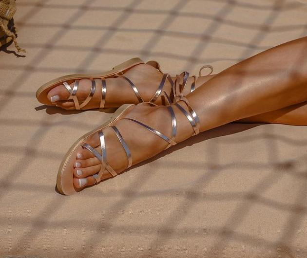 Made in Greece τα «Aelia Greek Sandals»: Όταν ο ήλιος της Ελλάδας γίνεται έμπνευση γεννιούνται τα πιο fashionable σανδάλια του καλοκαιριού (φωτό) - Κυρίως Φωτογραφία - Gallery - Video