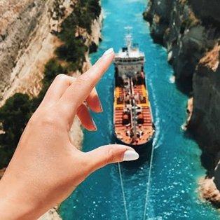 Ισθμός Κορίνθου: Η ομορφιά της Ελλάδας σε ένα… άγγιγμα (Φωτό: Feel Greece) - Κυρίως Φωτογραφία - Gallery - Video