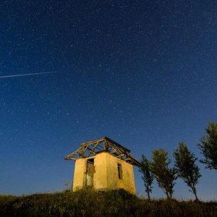 «Πεφταστέρια» από την περιοχή Somoskoujfalu της Ουγγαρίας - Φωτογραφία: EPA / PETER KOMKA - Κυρίως Φωτογραφία - Gallery - Video