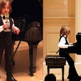 Στέλιος Κερασίδης: Το παιδί θαύμα της μουσικής μάγεψε κοινό & κριτές στο Carnegie Hall - Κυρίως Φωτογραφία - Gallery - Video