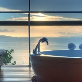 Φωτό από τα ωραιότερα μπάνια του κόσμου σε ξενοδοχεία - Με θέα που κόβει την ανάσα  - Κυρίως Φωτογραφία - Gallery - Video