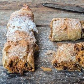 Πεντανόστιμη Κολοκυθόπιτα γλυκιά με καρότο από την δασκάλα της μαγειρικής Αργυρώ - Κυρίως Φωτογραφία - Gallery - Video
