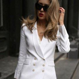 Οι πιο στυλάτοι συνδυασμοί για ντύσιμο με άσπρο σακάκι - Κυρίως Φωτογραφία - Gallery - Video