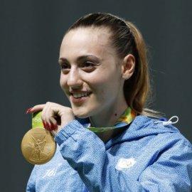 Άννα Κορακάκη: Μια μέρα πριν την γιορτή της πήρε την πρώτη θέση στο Grand Prix του Βελιγραδίου  - Κυρίως Φωτογραφία - Gallery - Video