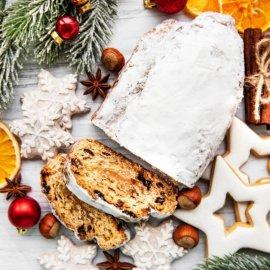 Η Αργυρώ Μπαρμπαρίγου μας δείχνει βήμα - βήμα πως να φτιάξουμε Χριστουγεννιάτικο stollen με πάστα αμυγδάλου - Κυρίως Φωτογραφία - Gallery - Video