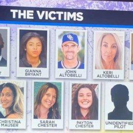 Αυτοί είναι οι νεκροί από το τραγικό δυστύχημα με το ελικόπτερο του Κόμπι Μπράιαντ - Ανασύρθηκαν 3 σοροί - Κυρίως Φωτογραφία - Gallery - Video