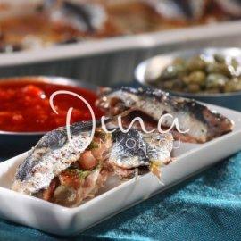 Η Ντίνα Νικολάου παρουσιάζει την πιο νόστιμη συνταγή για ψαράκι- Σαρδέλες γεμιστές πλακί - Κυρίως Φωτογραφία - Gallery - Video