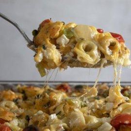 Ο Άκης Πετρετζίκης προτείνει: Απίθανα τορτελίνια με τυρί στον φούρνο - Θα πάθετε πλάκα  - Κυρίως Φωτογραφία - Gallery - Video