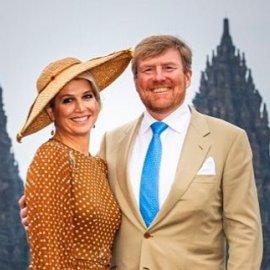 Ο βασιλιάς της Ολλανδίας & η εντυπωσιακή Βασίλισσα του χωρίς γάντια, μάσκα - Επίσκεψη στο Εθνικό Ινστιτούτο Δημόσιας Υγείας (Φωτό) - Κυρίως Φωτογραφία - Gallery - Video