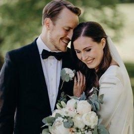 Η 34χρονη Πρωθυπουργός της Φιλανδίας Sanna Marin παντρεύτηκε τον γοητευτικό σύντροφό της- Είναι μαζί από τα 18 τους, έχουν μια κόρη (φωτό) - Κυρίως Φωτογραφία - Gallery - Video