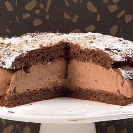 Ένα καταπληκτικό γλυκό από τον Στέλιο Παρλιάρο - Tarte tropézienne με σοκολάτα  - Κυρίως Φωτογραφία - Gallery - Video