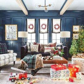 Χριστούγεννα στο living room σας! - 36 ιδέες για να γεμίσει φως & γιορτινό χρώμα το σπίτι σας (Φωτό)  - Κυρίως Φωτογραφία - Gallery - Video