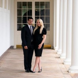 Η Tiffany Trump αρραβωνιάστηκε τον Γαλλολιβανέζο πάμπλουτο νεότερό της Michael Boulos: Η γνωριμία σε μπαρ στη Μύκονο, οι μετοχές στην Folli Follie (φωτό)  - Κυρίως Φωτογραφία - Gallery - Video