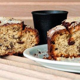 Νηστίσιμο κέικ με ταχίνι από τον Στέλιο Παρλιάρο: Οι σταφίδες, τα καρύδια και το πορτοκάλι δίνουν άλλη νοστιμιά - Κυρίως Φωτογραφία - Gallery - Video