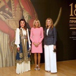 Στο μουσείο Μπενάκη η Brigitte Macron, με την Γιάννα Αγγελοπούλου & την Μαρέβα Μητσοτάκη - οι φωτό από την ξενάγησή της  - Κυρίως Φωτογραφία - Gallery - Video