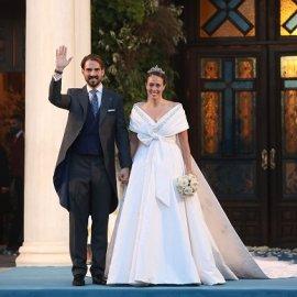 Όλες οι φωτογραφίες από τον πριγκιπικό γάμο στην Αθήνα: Ο Φίλιππος & η Νίνα Φλορ παντρεύτηκαν στην Μητρόπολη (βίντεο) - Κυρίως Φωτογραφία - Gallery - Video